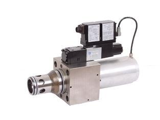 6300L/min Hydraulische Evenredige Klep doctorandus in de letteren-liqzo-LES 2 klep 25, 32 van de manierpatroon