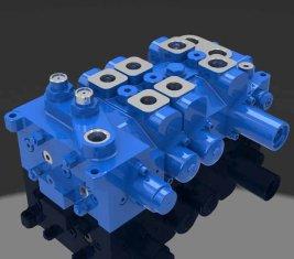 Multi - manier directionele hydraulisch ventiel 4 DP20GL-2 voor kranen
