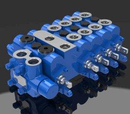 China Combinatie Control directionele hydraulische proportionele ventiel 5 DL-G10L-TA leverancier