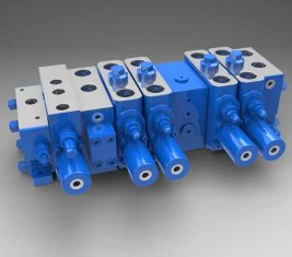 Volledige lading gevoelige Multi - manier directionele hydraulische Valve LTYB-G28L-5T