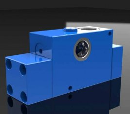 Bouw Balancing directionele hydraulisch ventiel PHY-G25 voor machines