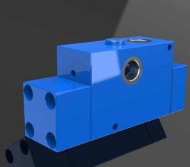 Balancing directionele hydraulische Cartridge ventiel voor graafmachines, Bulldozers PHY-GQ20