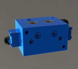 China Crane evenwichtig rem directionele hydraulische Cartridge klep PZF-F15L-B leverancier