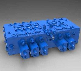 China Volledige lading - gevoelig Multi - manier directionele hydraulische controle klep QFZMG32H leverancier