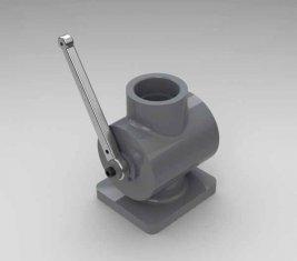 Directionele hydraulische Valve QYG40 uitgeschakeld voor laders, Bulldozers, schrapers