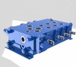 Crane combinatorische controle directionele hydraulische Valve QYSF18-15