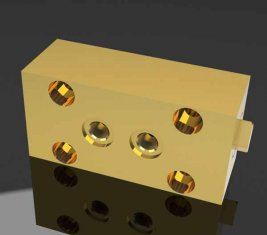 SO1 Bouw directionele hydraulisch ventiel Lock voor bestrating Machines