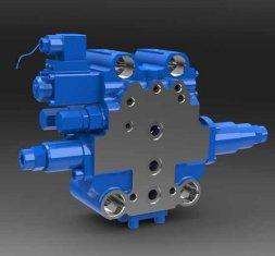 China SXHCF10L Rotary Buffer directionele hydraulisch ventiel voor Motor nivelleermachines leverancier