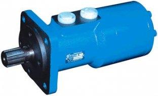 Hoge efficiëntie hydraulische Orbit Motor BM3 met rechte Φ25 / Φ30 flat 8