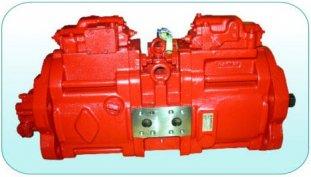 China 63cc, 112cc, 140cc kleine hydraulische zuigerpompen K3V63DT, K3V112DT, K3V140DT leverancier