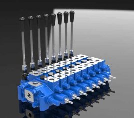 Hydraulische Relief gecombineerd Spool directionele controle klep HCD6