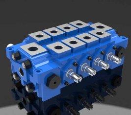 China Meerdere Hydraulische stuurschuiven Valve DL gecombineerd voor Engineering leverancier