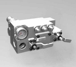420 / 400 Bar handmatige Water stuurschuiven Valve CLSF38-1