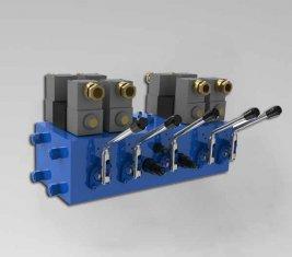 Electro hydraulische directionele controle ventiel CMJF20 voor 80 / 210 l/min