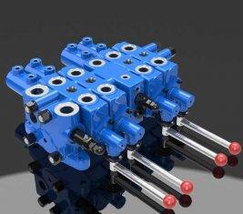 Mijnbouw hydraulische selectievakje Multi Directional Control ventiel DLYS