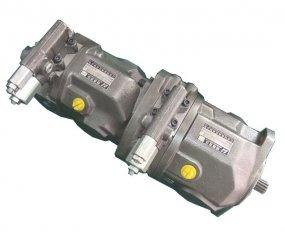 Flow Control Tandem hydraulische pomp A10VSO28 met Nm koppel 125